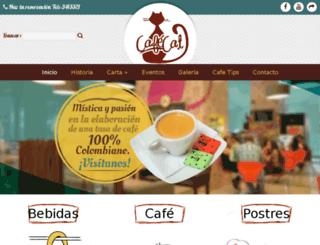 cafecat.com.co screenshot