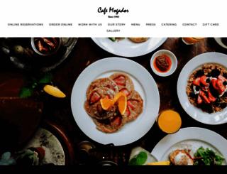cafemogador.com screenshot
