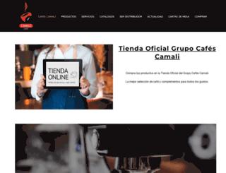 cafescamali.com screenshot