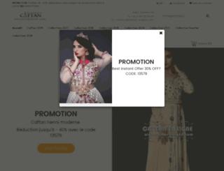 caftan-enligne.com screenshot