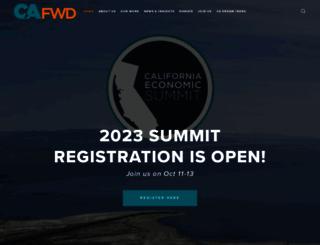 cafwd.org screenshot