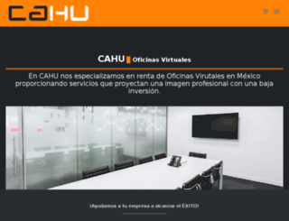 cahu.com.mx screenshot