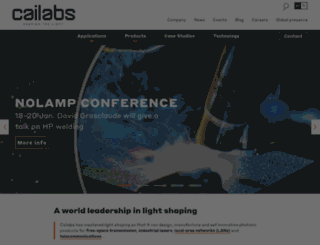 cailabs.com screenshot
