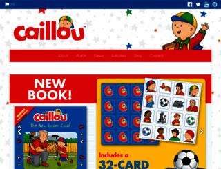 caillou.com screenshot