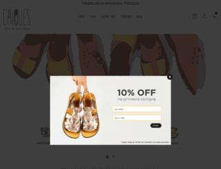 caiques.com.br screenshot