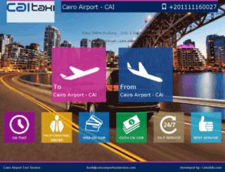 cairoairporttaxiservice.com screenshot