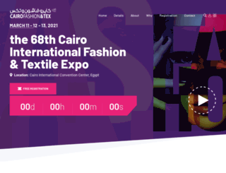 cairofashiontex.com screenshot