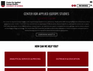cais.uga.edu screenshot