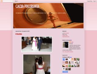 caixapoeirenta.blogspot.pt screenshot
