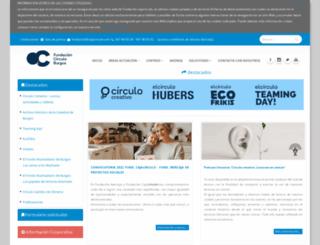 cajacirculo.com screenshot