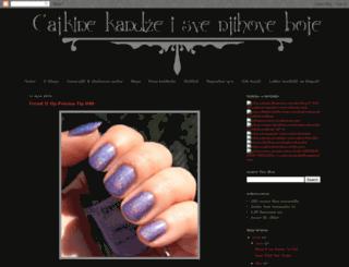cajkinekandze.blogspot.rs screenshot