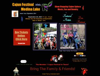 cajunfestival-medinalake.com screenshot