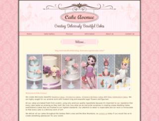 cakeavenue.com.au screenshot