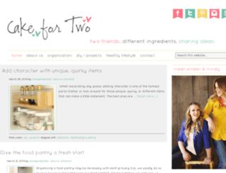 cakefor2.com screenshot