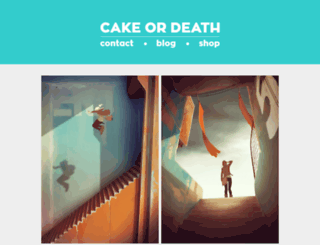 cakeordeath.fr screenshot