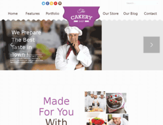cakery.templatation.com screenshot