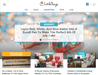 cakes.littlethings.com screenshot