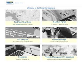 cal-prop.com screenshot