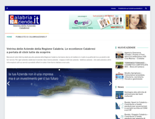 calabriaaziende.it screenshot