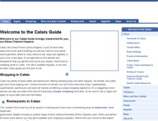 calais-guide.co.uk screenshot