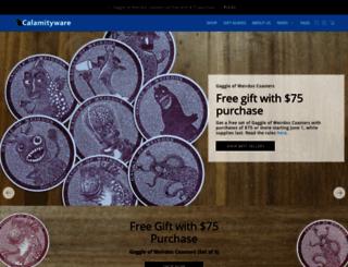 calamityware.com screenshot
