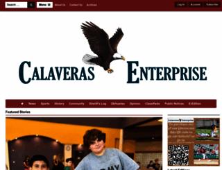 calaverasenterprise.com screenshot