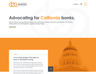 calbankers.com screenshot