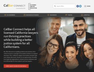 calbarconnect.com screenshot
