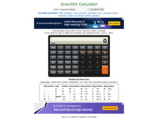 calc.thetimetube.com screenshot