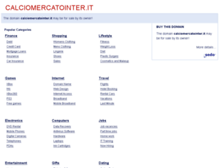calciomercatointer.it screenshot