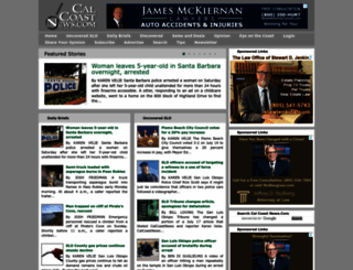 calcoastnews.com screenshot