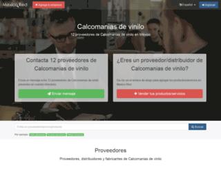 calcomanias-de-vinilo.mexicored.com.mx screenshot