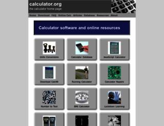 calculator.org screenshot