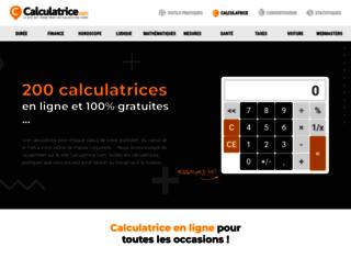 calculatrice.com screenshot