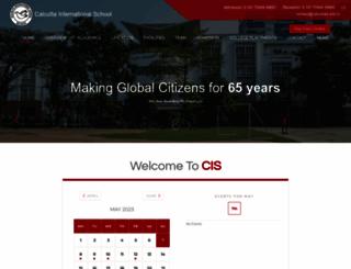 calcuttais.edu.in screenshot