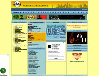 calcuttayellowpages.com screenshot