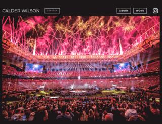 calderwilson.com screenshot