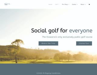 calderwoodgolf.com.au screenshot