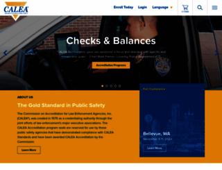 calea.org screenshot