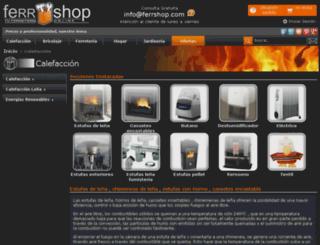 calefaccion.ferrshop.com screenshot