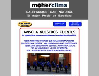 calefacciongasnatural.com screenshot