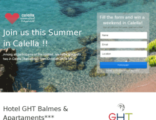 calellabarcelona.instapage.com screenshot