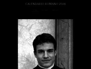 calendarioromano.org screenshot