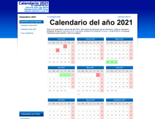 calendarios.net screenshot