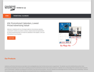 calendarworld.com screenshot