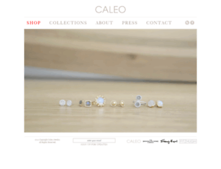 caleojewelry.com screenshot