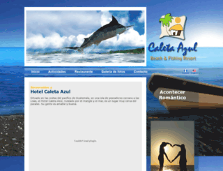 caletaazul.com screenshot