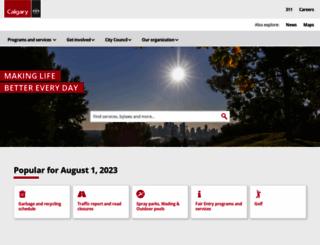 calgary.ca screenshot