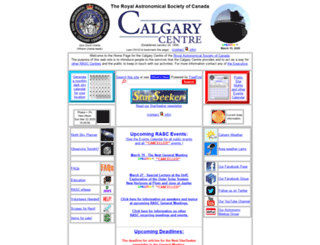 calgary.rasc.ca screenshot
