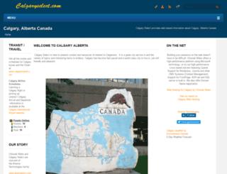 calgaryselect.com screenshot